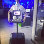 Robot serveur Jardin et Saveurs