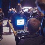 Robot serveur R Comme Robot Glooter Mercedes