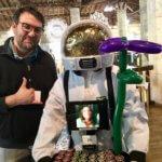 Photo réseaux sociaux Georges le robot