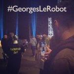 #georgeslerobot selfie