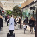 Georges robot animation commerciale carrefour act for food