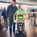 Georges le robot avec Damien Trail